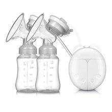 Электрический + молокоотсос + молокоотсос + двусторонний + молоко + насос + USB + питание + с + ребенок + молоко + бутылочка + ребенок + мощный + всасывание + грудь + кормление + аксессуары