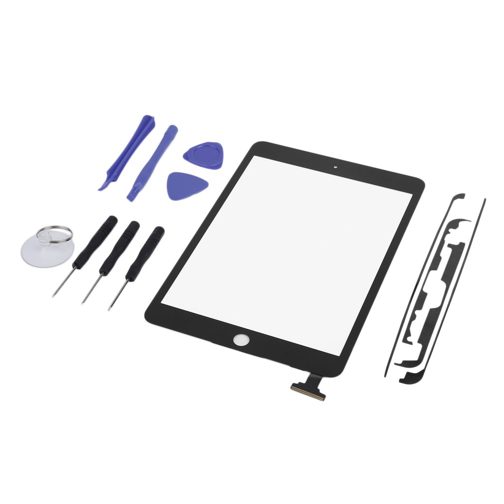 Newest Replacement Tool Touch Screen Digitizer Front Glass NO IC Chip 8 Pieces Opening Tools For IPAD MINI 1MINI 2 Panel