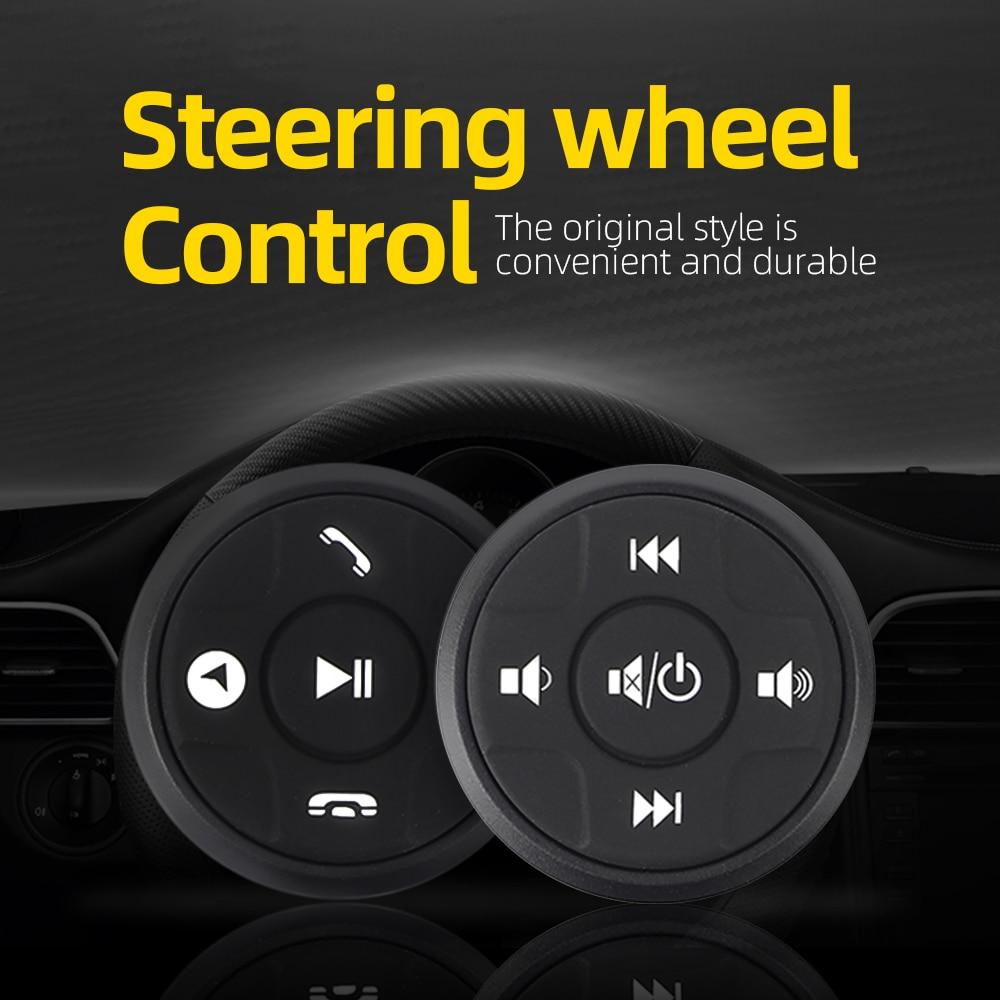 10 кнопок, беспроводная кнопка управления рулевым колесом для автомобильного радио, DVD, GPS, мультимедиа, навигация, головное устройство, кнопк...