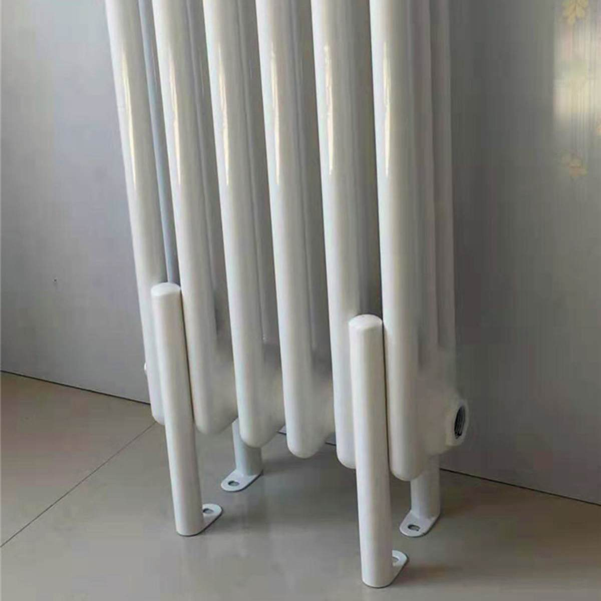 Home Heating Radiator Legs Heating Bracket Heating Pipe Support Wall Heating Panel Heater Water Heating Radiator Feet