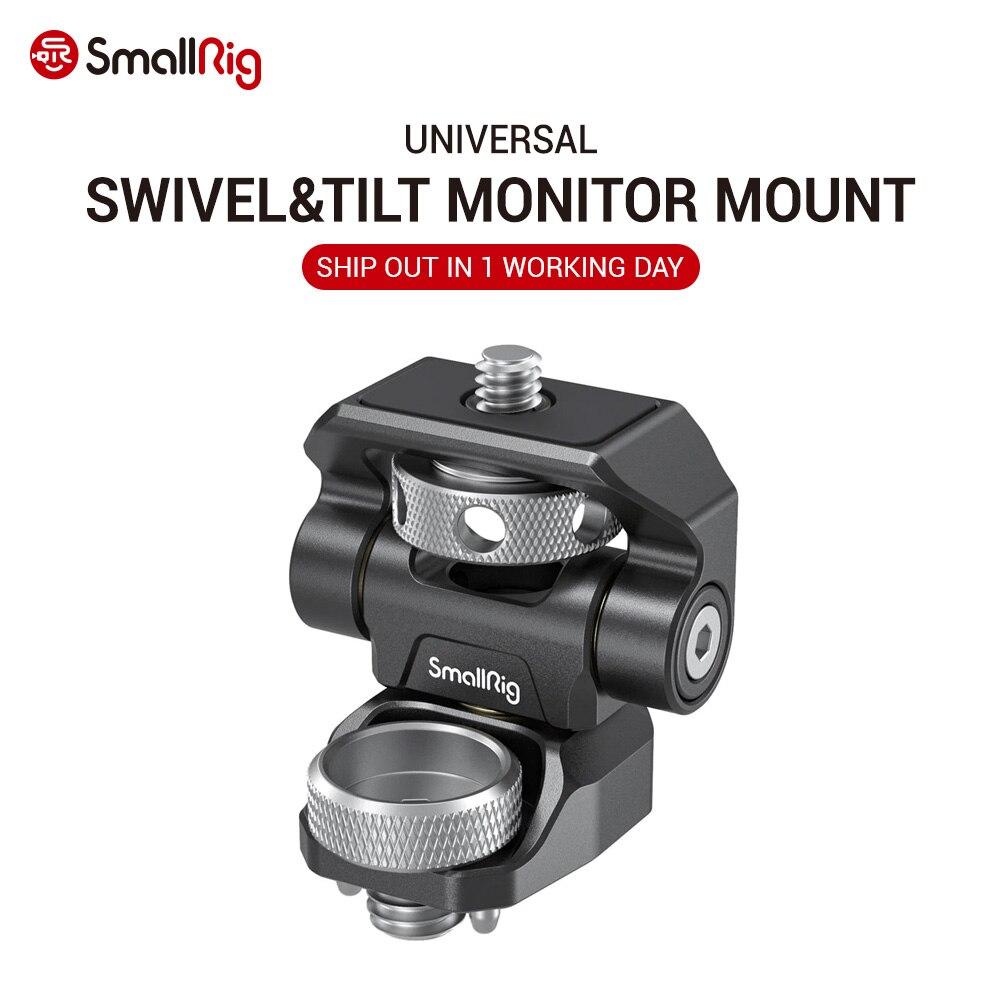 SmallRig DSLR Cámara ajustable soporte de Monitor de cámara giratoria e inclinable montaje de Monitor ajustable con soporte de estilo ANCI 2903