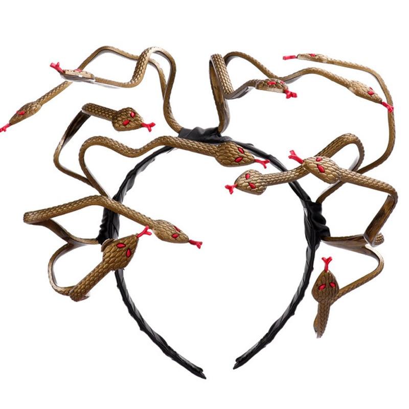 Medusa Snake Headband New Halloween Party Party Hair Accessories Novelty Style Headband