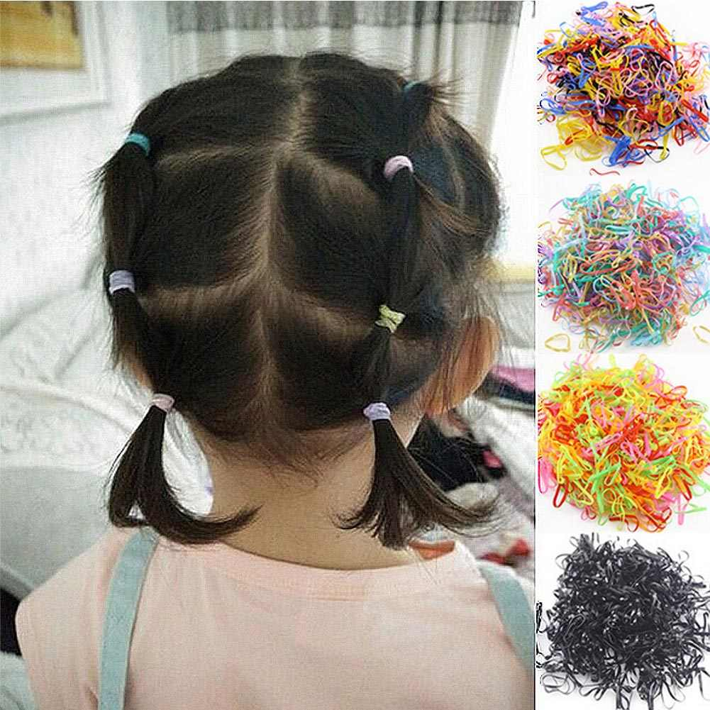 1000pcs Lot Wholesale Girls Small Ring Disposable Rubber Band Tpu