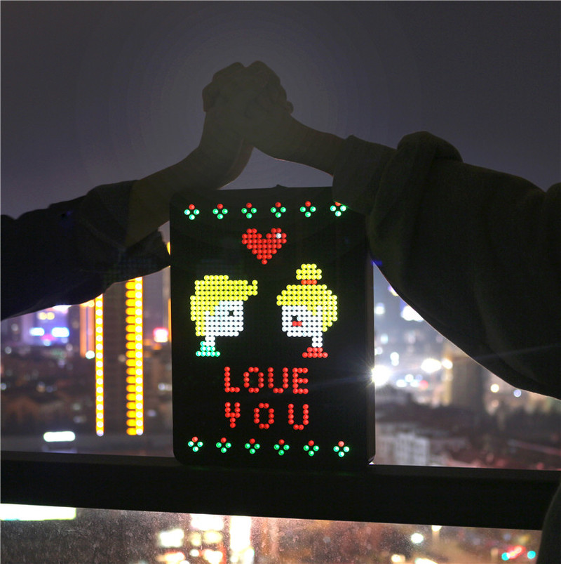 2019 Creative Shining Light Nailboard Light Boxes Own Message Sign Display Party Wedding A4/A5 Light Box