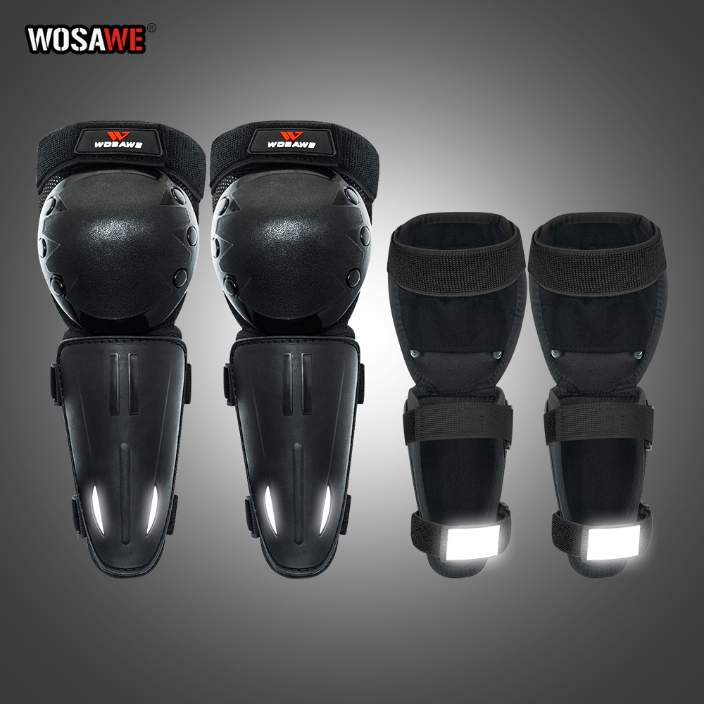WOSAWE Children KneePads and ElbowPads Outdoor Activities Impact Resistant Protective Gear Skating Bicycle Protection Kneepads