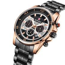 Men's Watches REWARD Brand Luxury Watch Stainless Steel Wristwatches Waterproof Fashion Business Date Quartz Watch Reloj Hombre