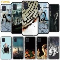 Doolhof Runner Amerikaanse Case Voor Samsung Galaxy A51 5G A71 A50 A21s A31 A10 A41 A20e A70 A30 A11 a40 A12 A20s Black Telefoon Cover Sac