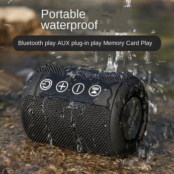 bluetooth wireless speakers Portable outdoor waterproof card sound Subwoofer blue tooth speaker