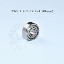 R3ZZ bearing 4.763*12.7*4.98(mm) ABEC-5 bearings metal Sealed Miniature Bearing 3/16 x 1/2 0.196 inch R3 R3Z