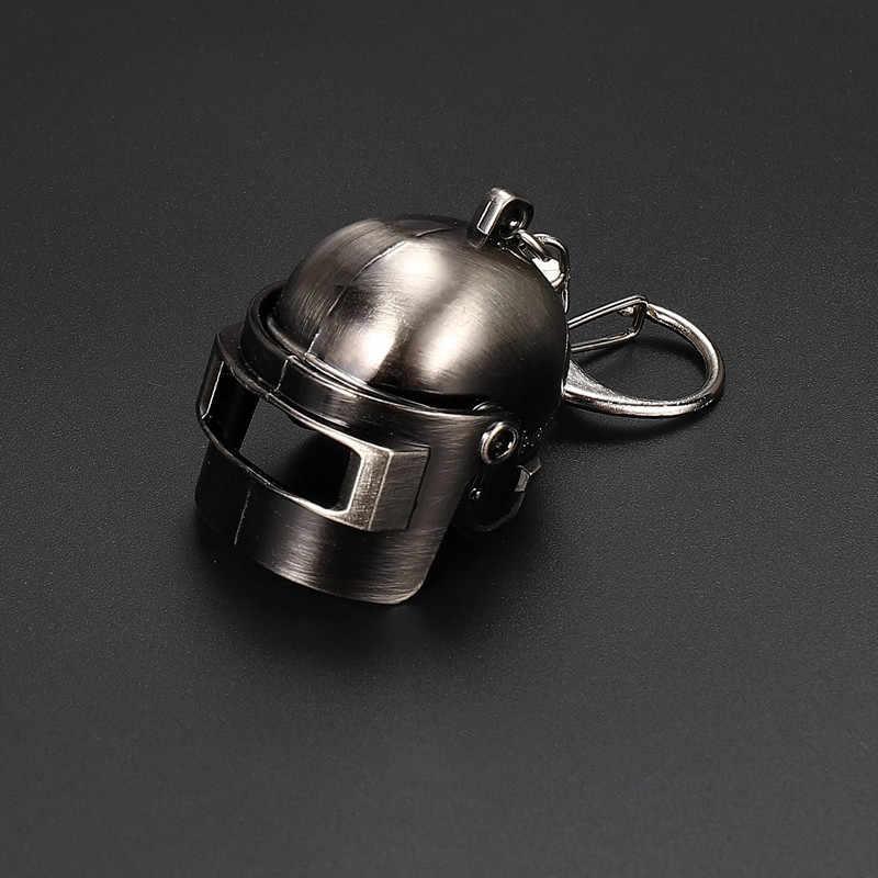 Jogo pubg nível 3 capacete mochila panela chaveiro playerunknown battlefield cosplay adereços