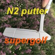 Nouveau putter de golf de qualité OEM personnalisé Newpo 2 putter 33/34/35 pouces avec des clubs de golf couvre chef