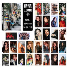30pcs/set Kpop Red Velvet photocard high quality HD picture lomo card Kpop Red Velvet redvelvet Album poster card Collective 03(China)