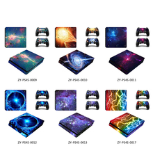 Skin-Sticker Decal Protective-Cover Console PS4 Playstation 4 Vinyl Sony Slim Star