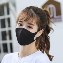 Black Mask Blue Pink Dust Mask On The Mouth Face Masks Anime Mascaras Pm2.5 Anti-fog Mouth Maska Unisex Travel Protection