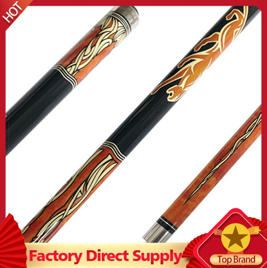 PREOAIDR 20TH Pool Cue Billiard Stick 11.5mm 12.75mm Tips With Joints Protection Black Orange Colors Black 8 Professional 2019