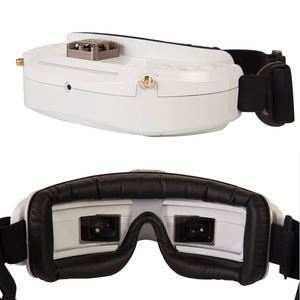 Image 3 - Skyzone SKY03O Oled SKY03S 03O 03S 5.8GHz 48CH Diversity FPV Goggles Support OSD DVR HDMI With Head Tracker Fan LED For RC Drone