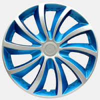 OHANEE Hubcap 14 Inch Universal Car Iron Wheel Caps Universal Fit Hub Cap Auto Refit Accessories (4 pcs)