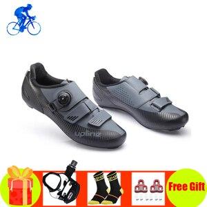 Мужская обувь для дорожного велосипеда, профессиональные дышащие кроссовки для езды на велосипеде, самозакрывающиеся