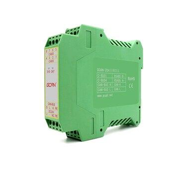 GCAN-204 Modbus communication bus converter Integrated modbusTCP / RTU slave protocol Trace/Timer mode CE、RoHS certification . gsm iot modbus rtu slave