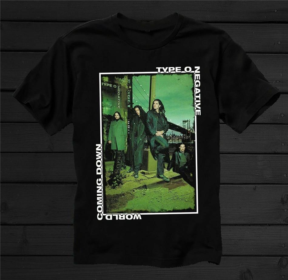 Type O Negative T Shirt October Rust Band Logo Nouveau Officiel Homme