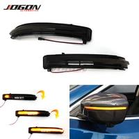 For Nissan X-Trail T32 Rogue Qashqai J11 Murano Navara Juke Pathfinder LED Side Mirror Dynamic Turn Signal Sequential Light