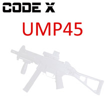CODE X Gel Blaster Upgrade UM45 Modell Kit Set UMP 45 WBB Magazin Feed Gel Ball Strahlen Spielzeug(China)