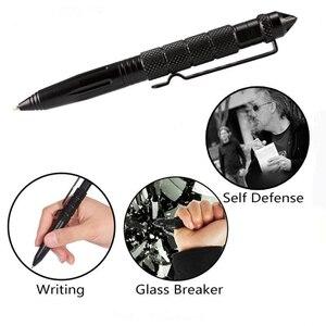 Image 2 - Wielofunkcyjny długopis taktyczny broń do samoobrony element do tłuczenia szkła ze stopu aluminium ze stopu aluminium narzędzie edc zestaw survivalowy na świeżym powietrzu zestaw ratunkowy