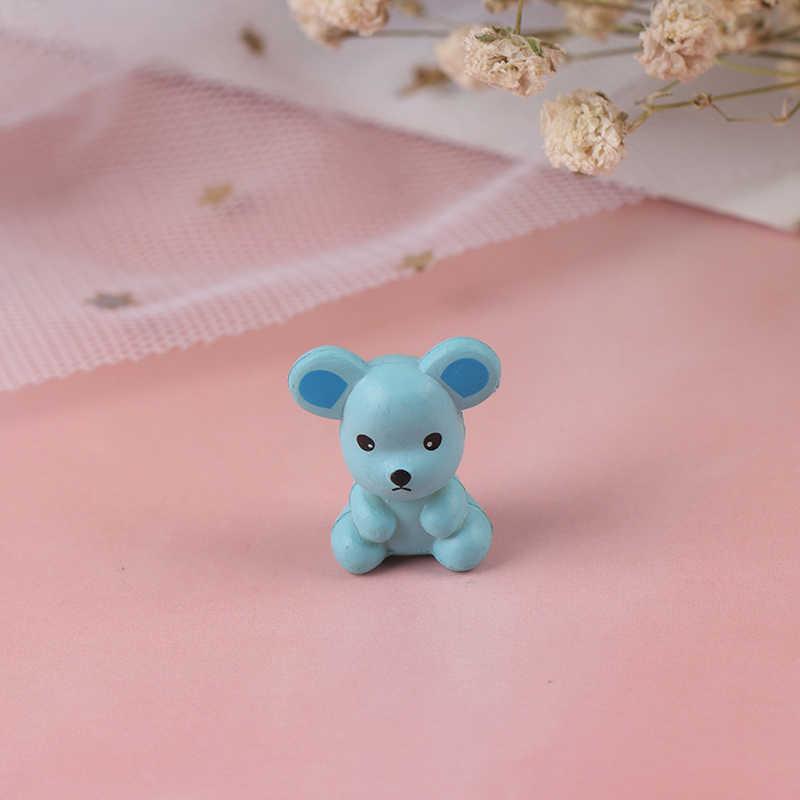 1PC Della Decorazione Della casa Del Mouse Ornamenti Mouse Piccola Statua Poco Figurine Desktop di Materiale In Resina