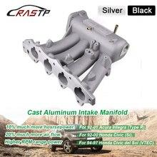 Rsatp-алюминиевый впускной коллектор обновленный болт для 99-00 Honda Civic 92-01 Acura Integra b16a b16b b18a RS-CR1823