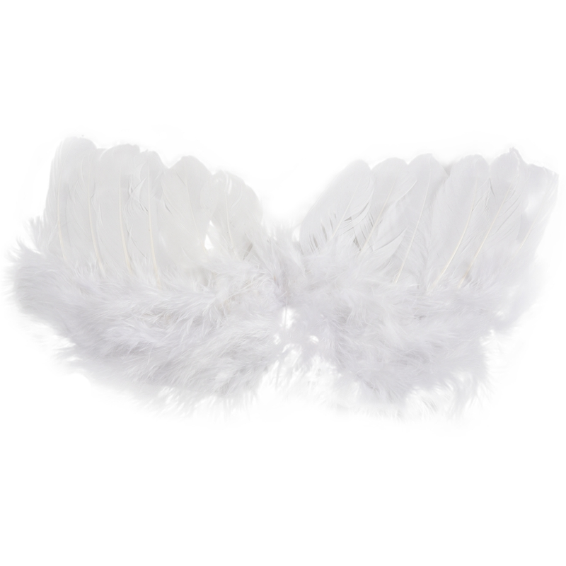 0-6 Mo Angel In Feathers Baby Accessories Cupid Without Wings Aureole