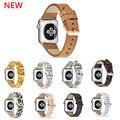 Ремешок кожаный для Apple Watch 6 Se 44 мм 40 мм, аксессуары из натуральной кожи для Apple Watch 6 Se 5 4 3 42 мм 40 мм 38 мм