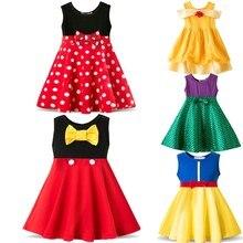 Летнее Брендовое детское платье для девочек, вечерние нарядное платье принцессы с единорогом, детские платья, костюм с единорогом, одежда принцессы для девочек