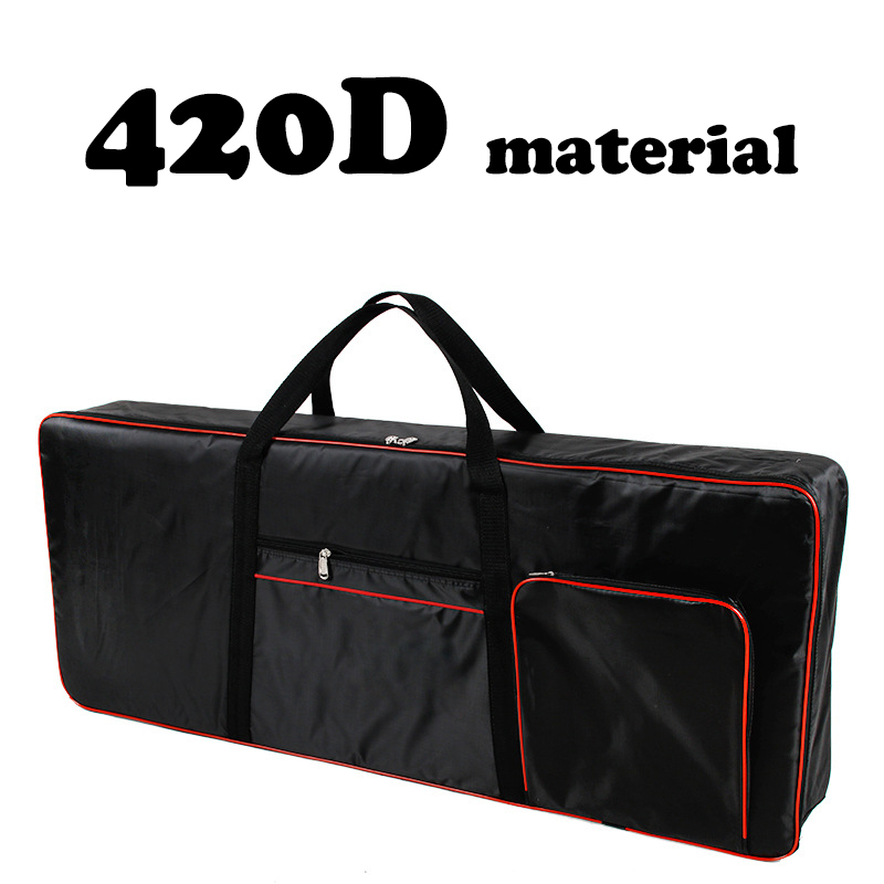 420D/600D Thickened Nylon 61 Key Keyboard Instrument Keyboard Bag Waterproof Electronic Piano Cover Case For Electronic