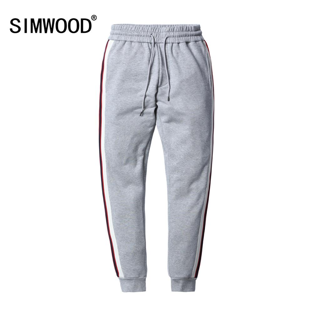 SIMWOOD 2020 Men Harem Pants Male Casual Sweatpants Track Pants Streetwear Trousers Jogger Spring Pants Brand Clothing 180450