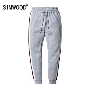 Image 1 - Мужские шаровары SIMWOOD, повседневные спортивные штаны, спортивные брюки, уличные брюки для бега, весенняя одежда, 180450, 2020