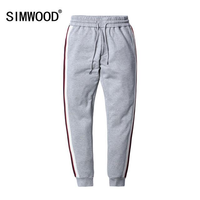 Мужские шаровары SIMWOOD, повседневные спортивные штаны, спортивные брюки, уличные брюки для бега, весенняя одежда, 180450, 2020