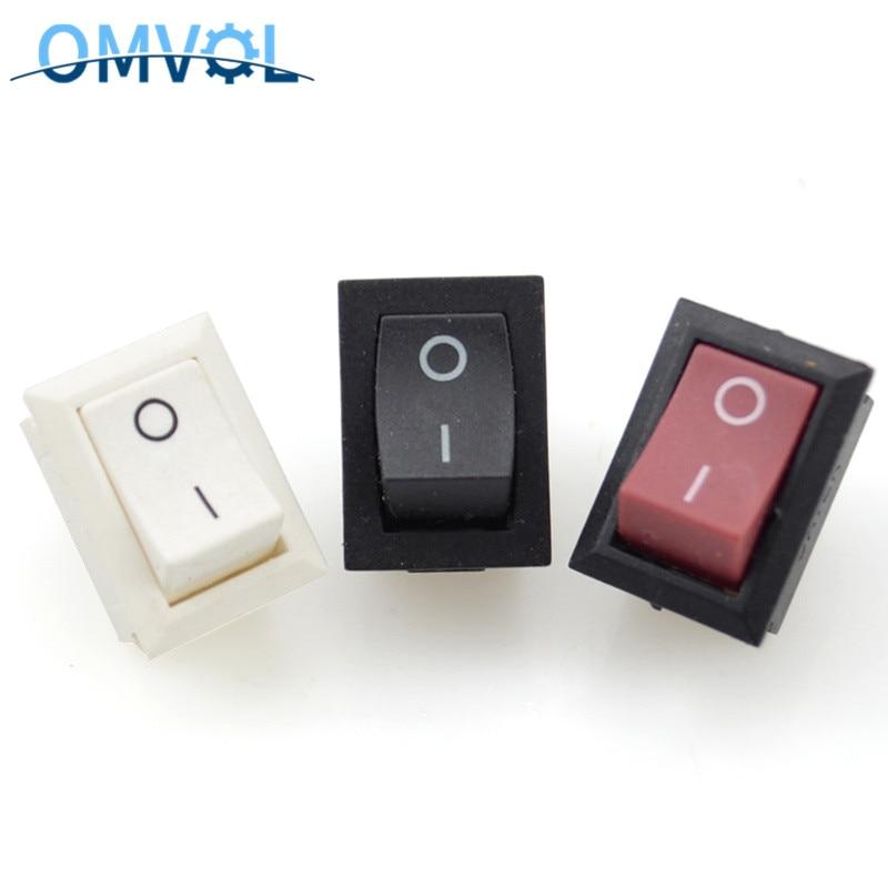 5PCS Rocker Switch  2 Pins  ON OFF 21x15