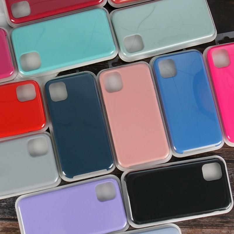 Официальный силиконовый чехол для iphone 11, чехол для Apple iphone 12 Pro 7 8 plus 7plus 8 P XS XR X XSMAX, чехлы для телефонов