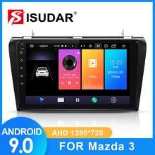ISUDAR Radio del coche para MAZDA 3 2004, 2005, 2006-2009 2 din Android 9 Autoradio Multimedia Cámara DVR con GPS RAM 2GB ROM 32GB Radio USB