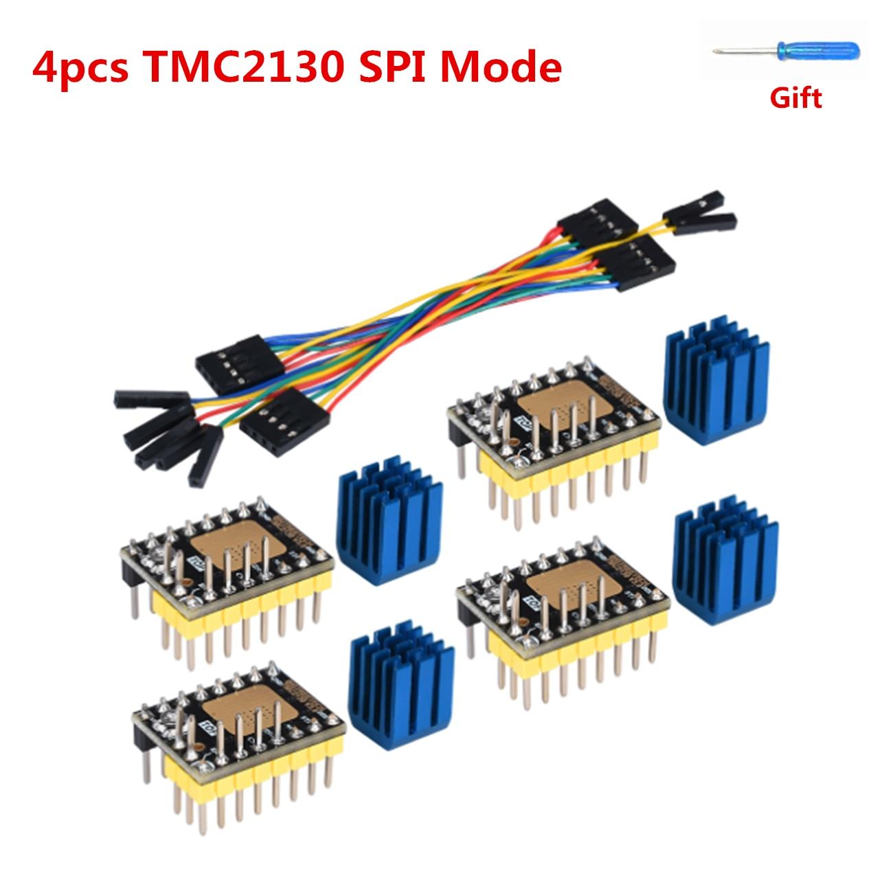 TMC2130 SPI Stepper Motor Driver Stepstick Driver TMC 2130 V3.0 Stepping Driver Controller For BIGTREETECH SKR V1.3 Mainboard