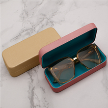 Hot Sale Men Women Portable Glasses Case Magnetic Leather Fold-able Glasses For Eyeglass Oversize Sunglasses Box(China)