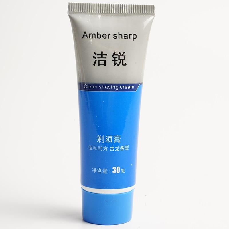 30g Shaving Cream Suitable For All Skin Shaving Foam Manually Soften Beard Reduce Friction Shaving Cream Deionized Water