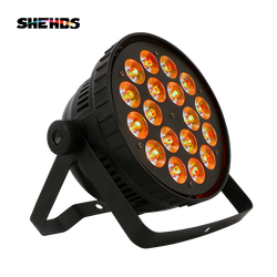 18x12 واط RGBW Led مصباح موازي المستوى DMX أضواء للمسرح الأعمال المهنية شقة الاسمية يمكن للحزب KTV ديسكو DJ Uplighting