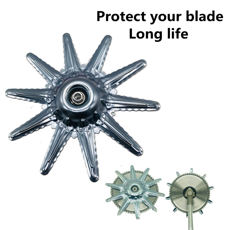 새로운 모델 안전 금속 블레이드 보호 가드 M10 * 1.25 브러시 커터 잔디 트리머 커터 안전 수호자 로타리 액세서리전동 공구 부품   -