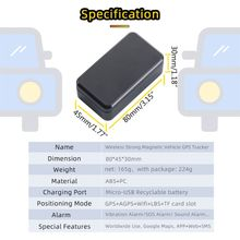 Gps-Tracker Vehicle Automotive Magnetic Strong SOS G11 Standby-Time Long-90days