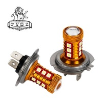 цена на 2Pcs H7 LED 3030 Car Fog Lamp Bulb car accessories 12V 10W 15 smd 6000K for LED Auto fog Lamp Bulbs White Light
