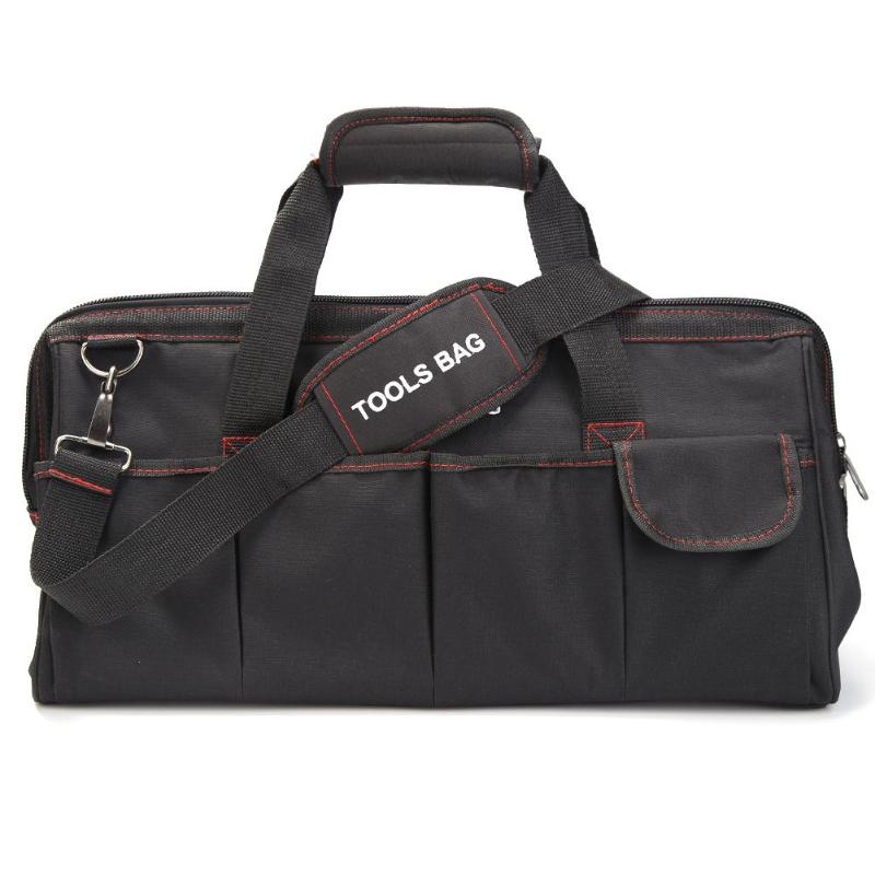 Oxford Cloth Waterproof Travel Bags Men Crossbody Bag Tool Bags Large Capacity Shoulder Toolkit Hand Bag For Tools Hardware