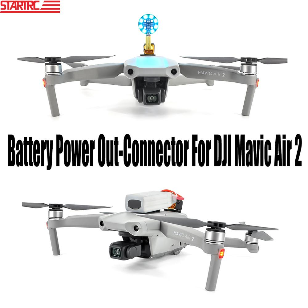 STARTRC Mavic Air 2 Battery Power Out Connector Power Adapter Accessories Increase Flying Time For DJI Mavic Air 2 Drone