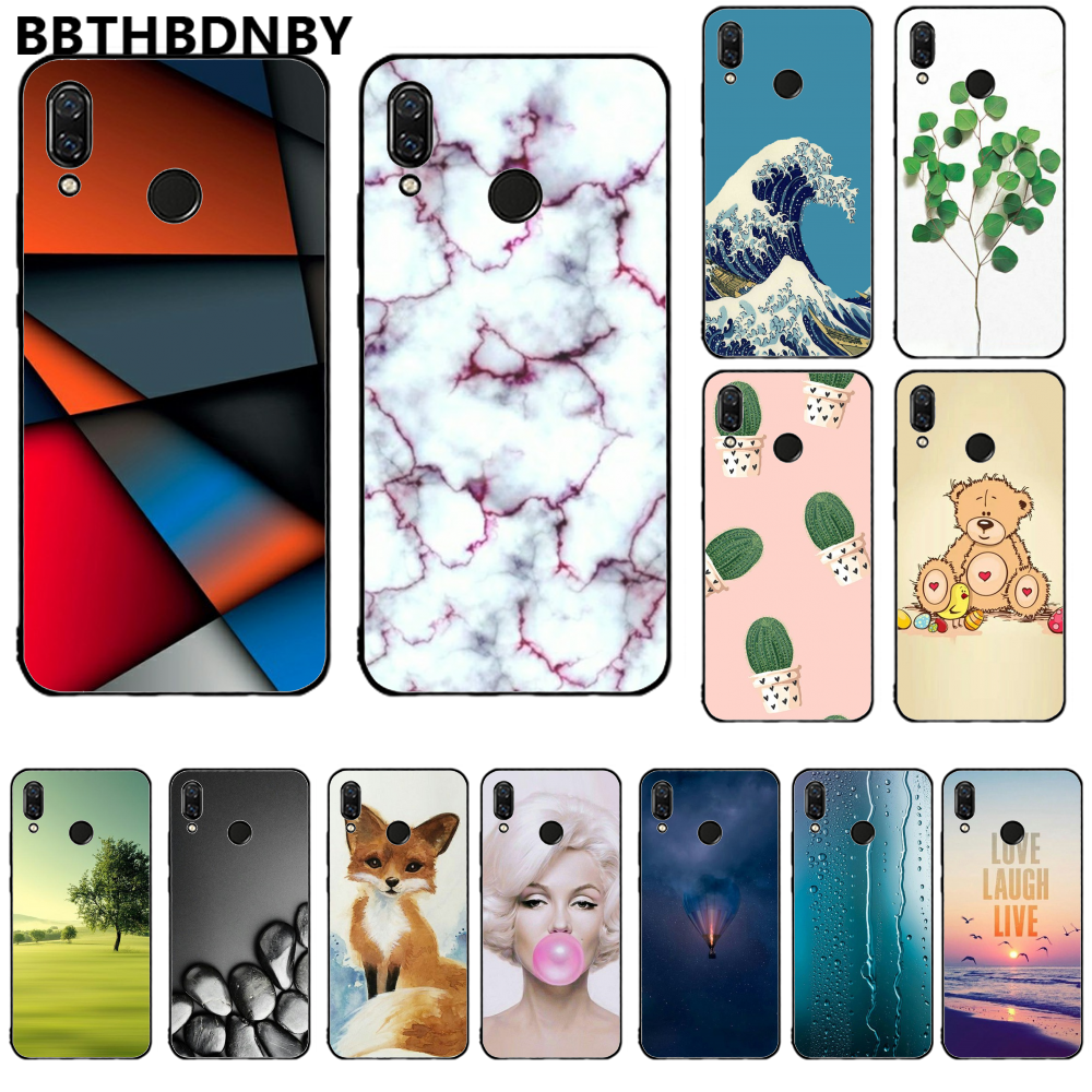 For Redmi note 7 Fashion Design DIY Painted Bling For Redmi note 7 Phone Case Russian version bumper paiting For Redmi note 7