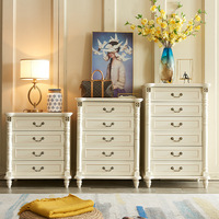 American country solid wood modern minimalist bedroom living room wardrobes drawer cabinet